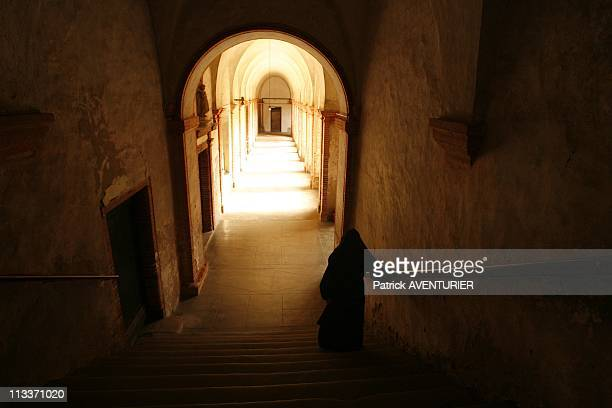 The Last Carmelite Sisters In Pamiers, France On July 29, 2008 - Entrance of the cloister after 360 years of presence in the episcopal city of...