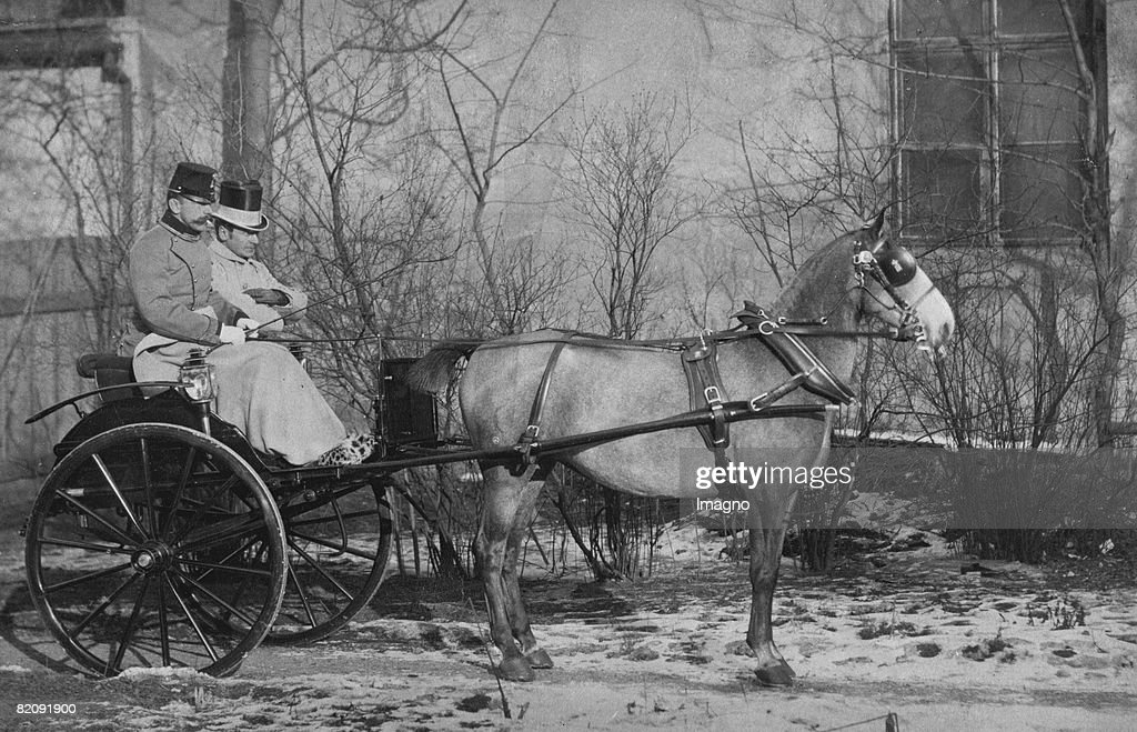 The last coach trip of Crown Prince Rudolf to the Viennese Prater on January 27, 1889, Austria, Photograph : News Photo