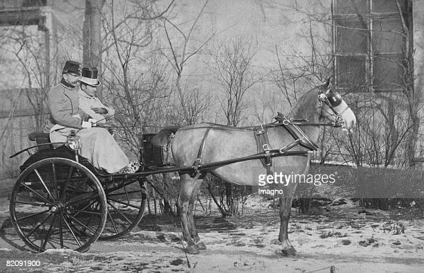 The last coach trip of Crown Prince Rudolf to the Viennese Prater on January 27 Austria Photograph [Die letzte Ausfahrt Kronprinz Rudolfs im Prater...