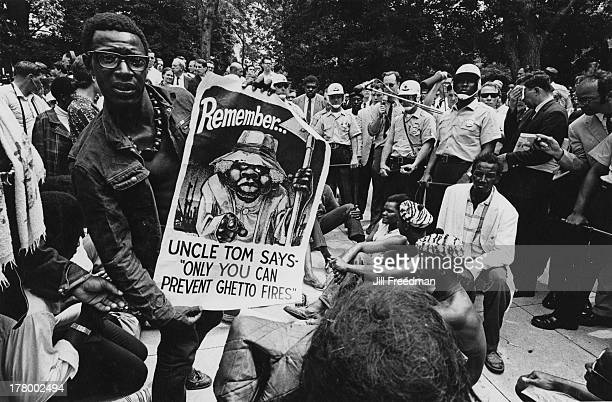 The last day for the residents of Resurrection City a three thousand person tent city on the Washington Mall set up as part of the Poor People's...