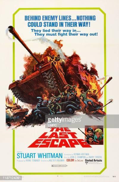 The Last Escape poster US poster art bottom right from left Stuart Whitman Margit Saad 1970