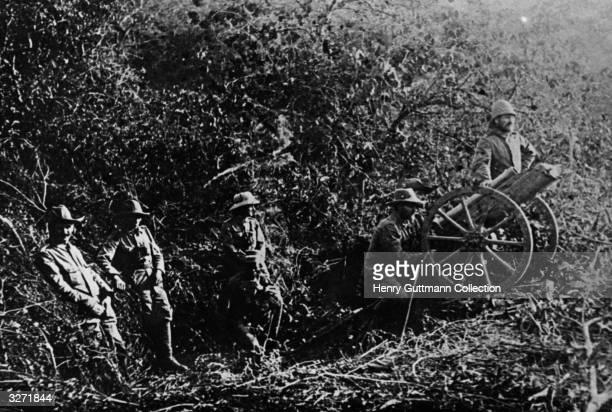 The last German guns in German East Africa