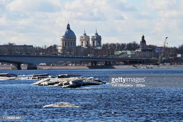 the last ice on the neva - - last stock pictures, royalty-free photos & images