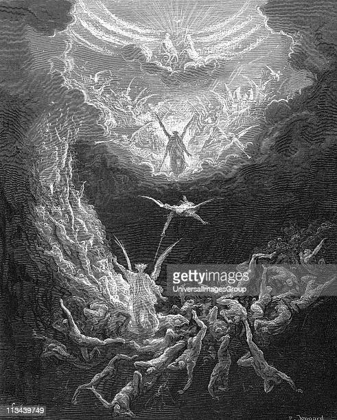 The Last Judgement Bible Book of Revelation 2011 Illustration by Gustave Dore 18651866 Wood engraving