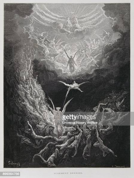 The Last Judgement Illustration From The Dore Bible 1866 In 1866