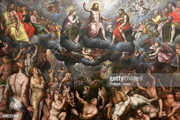 The Last Judgment by Raphaël Coxcie (1588-1589). Ghent fine art museum