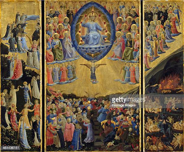 The Last Judgment Early 15th cen Found in the collection of the Staatliche Museen Berlin