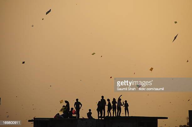 The last kites of Uttarayan 2013