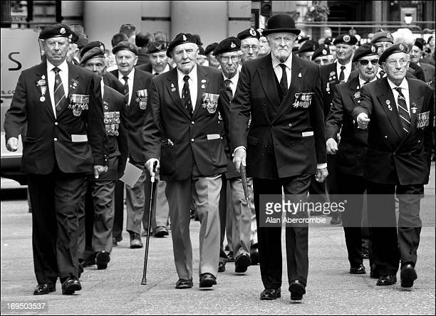 The last meeting of the D-Day heroes, still marching with a purpose and determination 65 years on as they did in Normandy. <a...