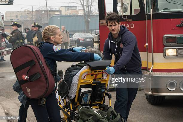 FIRE The Last One For Mom Episode 420 Pictured Kara Killmer as Sylvie Brett Steven R McQueen as Jimmy Borelli