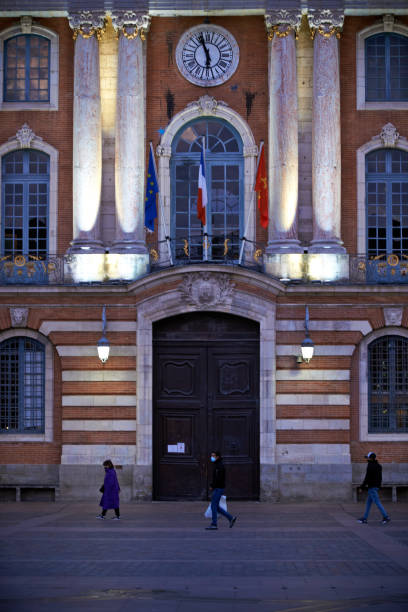 FRA: New Curfew Beginning At 6pm In France