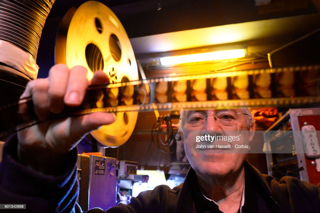 The last porn cinema, le Beverley, in Paris is closing its doors at the end of January. The proprietor Maurice Laroche aged 74 who also sells tickets in the box office has been running the business since 1982. Due to porn on the internet and the dwindling numbers of customers competition is too great. Online erotica has taken over the cinema circuit. Today he sells 600 tickets a week whereas 20 years ago it was more than 1,500. In the early 1980s there were 20 porn cinemas between la Place de la République and l'Opera. Now on January 03, 2018 in Paris, France Maurice Laroche who is retiring must shut down by the end of the month. In the projection room celluloid film survives, screened from a 50 year old film projector to the delight of the connaisseurs of vintage porn where most of the regular clients are more than 60 years old today. (Photo by John van Hasselt/Corbis via Getty Images01