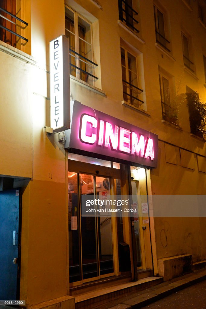 The last porn cinema, le Beverley, in Paris is closing its doors at the end of January. The proprietor Maurice Laroche (not pictured) aged 74 who also sells tickets in the box office has been running the business since 1982. Due to porn on the internet and the dwindling numbers of customers competition is too great. Online erotica has taken over the cinema circuit. Today he sells 600 tickets a week whereas 20 years ago it was more than 1,500. In the early 1980s there were 20 porn cinemas between la Place de la République and l'Opera. Now on January 03, 2018 in Paris, France Maurice Laroche (not pictured who is retiring must shut down by the end of the month. In the projection room celluloid film survives, screened from a 50 year old film projector to the delight of the connaisseurs of vintage porn where most of the regular clients are more than 60 years old today. (Photo by John van Hasselt/Corbis via Getty Images01