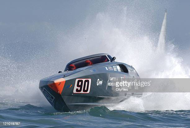 The last round of the UIM Powerboat P1 World Championship Portuguese Grand Prix of the Sea in Cascais Antonio Cola and Giancarlo Cangiano won the...