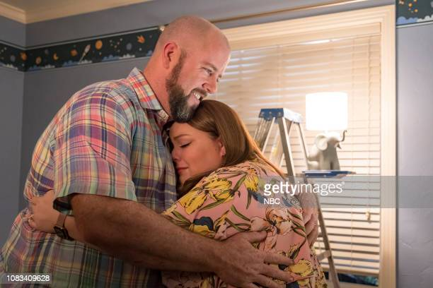 US The Last Seven Weeks Episode 310 Pictured Chris Sullivan as Toby Damon Chrissy Metz as Kate Pearson