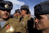 The last soviet soldiers leave kabul afghanistan in february 1989 picture id108558524?s=170x170