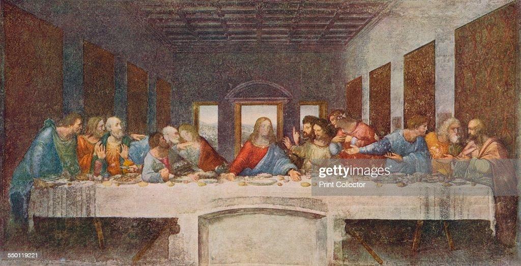 the last supper 1494 1498 artist leonardo da vinci pictures