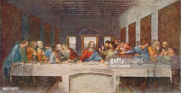 'The Last Supper' 14941498 The mural painting was for the refectory of the Convent of Santa Maria delle Grazie Milan and was commissioned as part of...