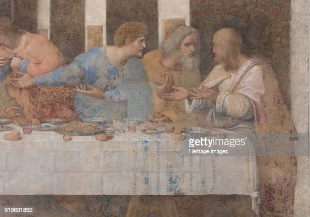 The Last Supper 14951498 Found in the Collection of Santa Maria delle Grazie Milan