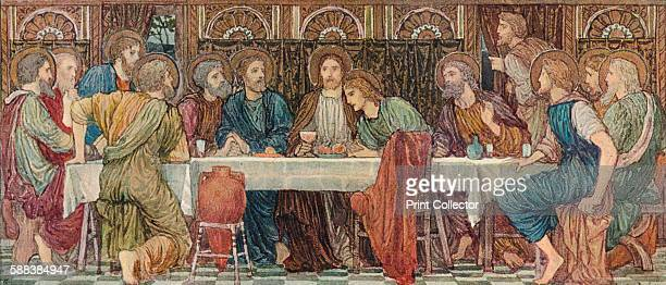 The Last Supper' 1898 The opus sectile reredos of the east wall of St Chad's Church Kirkby From The Studio Volume 46