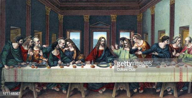 The Last Supper after the fresco by Leonardo da Vinci 15 April 1452 2 May 1519