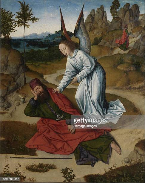 Elijah in the wilderness 14641468 Artist Bouts Dirk