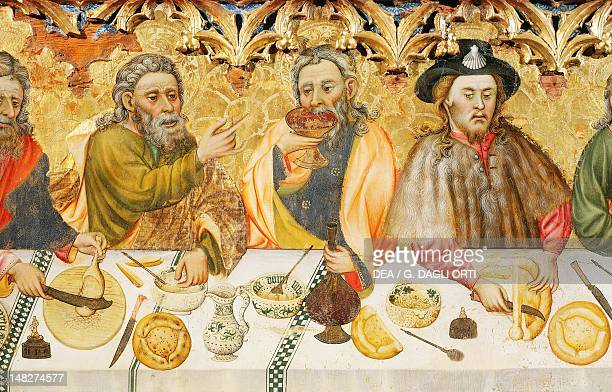 The Last Supper by Jaime Ferrer the Elder Detail Solsona Museo Diocesano Y Comarcal