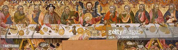 The Last Supper by Jaume Ferrer the Elder panel Solsona Museo Diocesano Y Comarcal