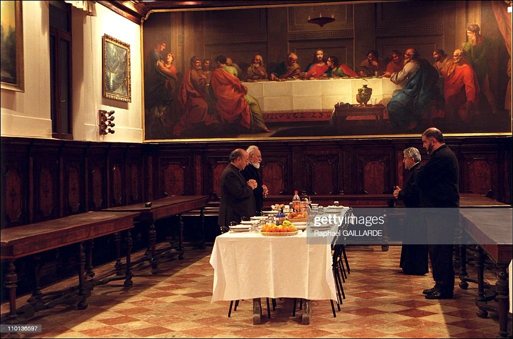 The Last Supper By Pietro Novelli In The Dining Room Of The Monks In