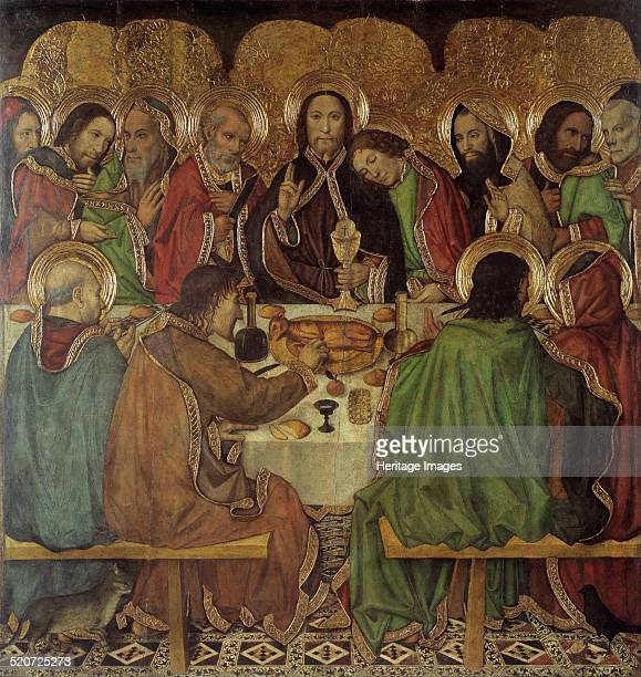 The Last Supper Found in the collection of Museu Nacional d'Art de Catalunya Barcelona