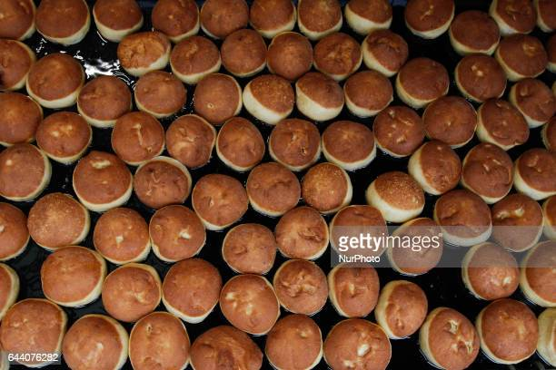 The last Thursday before Lent also known as Fat Thursday or Tlusty Czwartek people in Poland traditionally eat paczki jam filled pastries similar to...