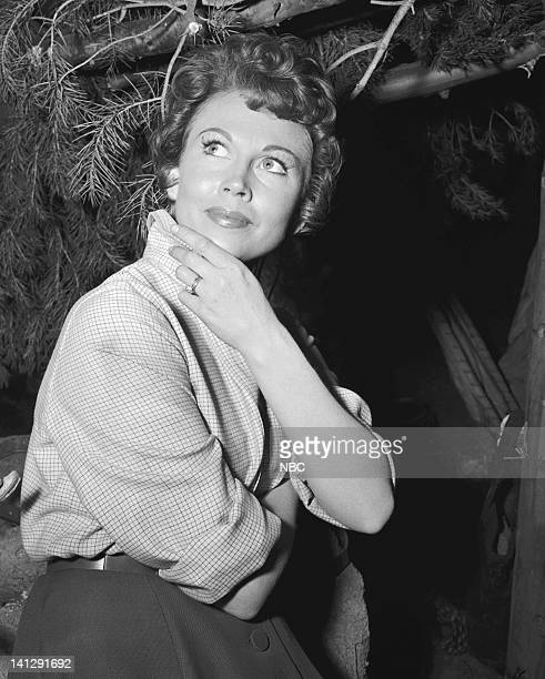BONANZA The Last Trophy Episode 27 Aired 3/26/1960 Pictured Hazel Court as Lady Beatrice Dunsford Photo by NBCU Photo Bank