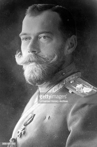 The last Tsar of Russia Nicholas II in 1910