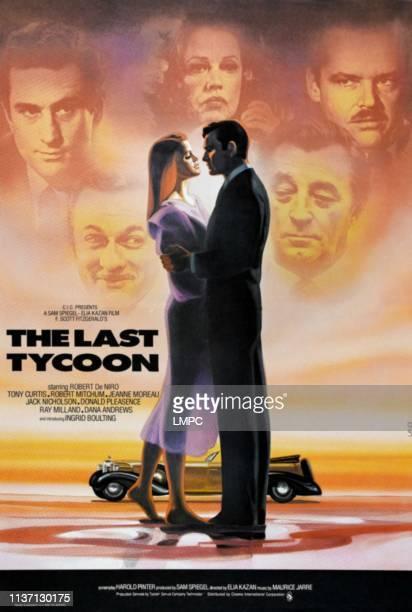 Robert De Niro Jeanne Moreau Jack Nicholson bottom lr Tony Curtis Robert Mitchum UK poster art 1976