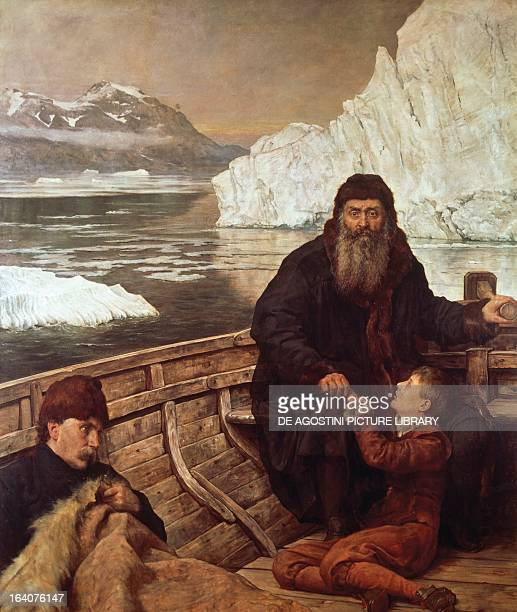 The last voyage of Henry Hudson who died in 1611 during the journey in search of the Northwest Passage oil on canvas by John Collier 1881 Canada 17th...