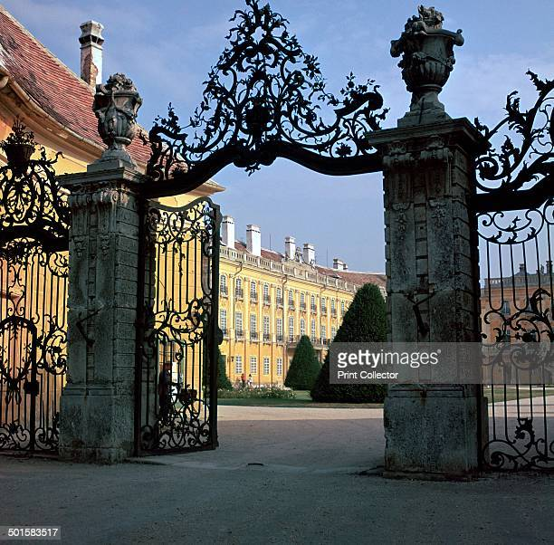 The late baroque Esterhazy Palace at Fertod where Haydn was the court composer from the 1760s until 1790