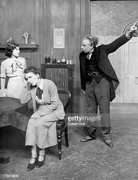 'The Late Christopher Bean play by Sidney Howard With Cedrick Hardwicke as Dr Haggett Lucille Lisle as Susan and Louise Hampton as Mrs Haggett...