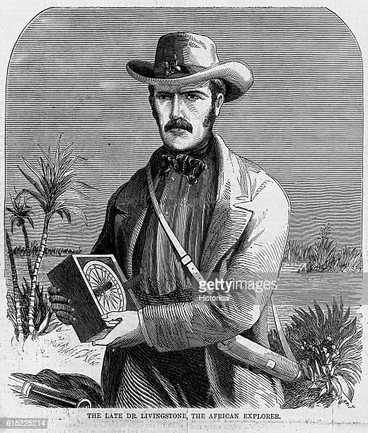 The Late Dr Livingstone the African Explorer Illustration