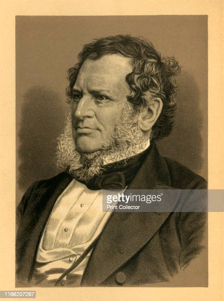 The Late Earl of Derby' circa 1850 Edward SmithStanley 14th Earl of Derby British statesman threetime Prime Minister of the United Kingdom and to...