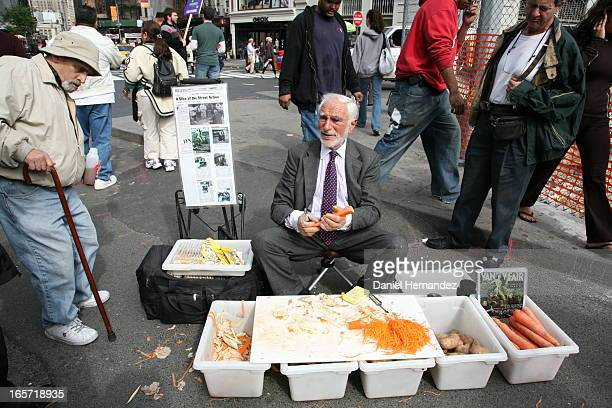 CONTENT] The late Joe Ades a wellknown New York City street vendor famous for selling vegetable peelers with a colorful sales pitch