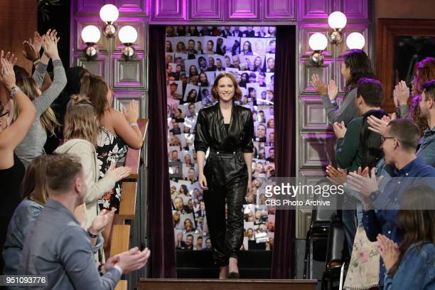 The Late Late Show with James Corden airing Monday April 23 with guests Evan Rachel Wood Don Johnson and Pentatonix Pictured Evan Rachel Wood