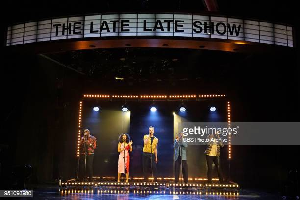 The Late Late Show with James Corden airing Monday April 23 with guests Pentatonix