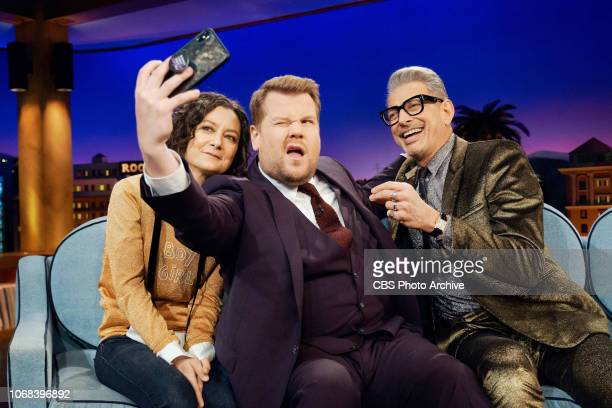 The Late Late Show with James Corden airing Monday December 3 with guests Sara Gilbert Jeff Goldblum and musical guests Jeff Goldblum The Mildred...