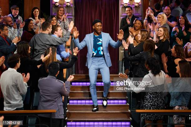 The Late Late Show with James Corden airing Monday, February 18 with guests Mahershala Ali, Aaron Sorkin, and music from Julia Michaels featuring...