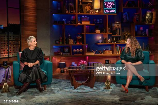 The Late Late Show with James Corden airing Monday, February 22 with guests Kristen Wiig and Annie Mumolo.
