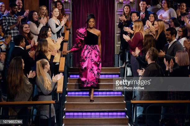 The Late Late Show with James Corden airing Monday, January 7 with guests KiKi Layne, John David Washington, and musical guest Alec Benjamin.