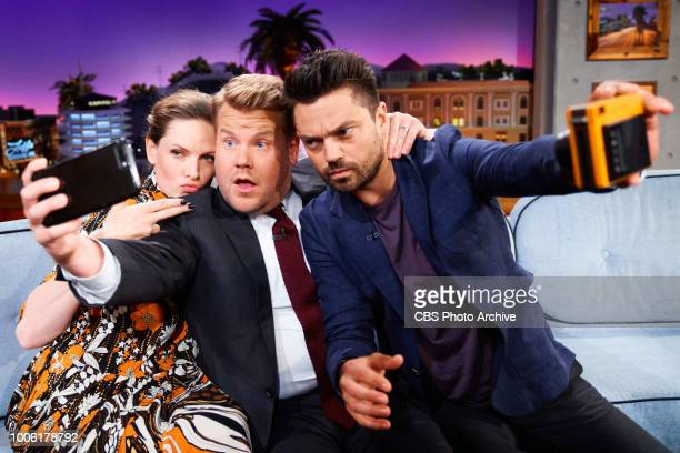 The Late Late Show with James Corden airing Monday July 23 with guests Rebecca Ferguson and Dominic Cooper