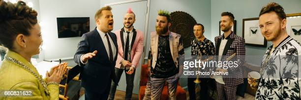 The Late Late Show with James Corden airing Monday, March 27 with guests J.J. Redick, Scott Bakula, Pete Holmes, and Misterwives. Pictured: James...