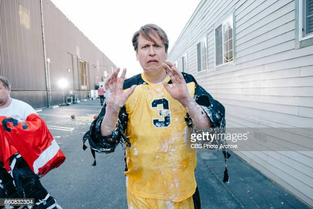 The Late Late Show with James Corden airing Monday March 27 with guests JJ Redick Scott Bakula and Pete Holmes Pictured James Corden and Pete Holmes
