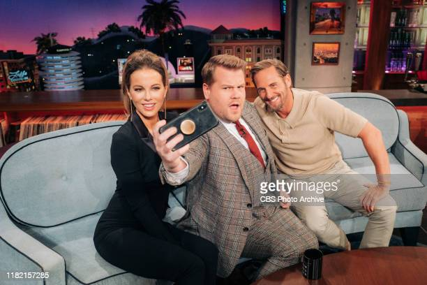 The Late Late Show with James Corden airing Monday, November 11 with guests Kate Beckinsale, Josh Lucas, and standup comic Andy Haynes.